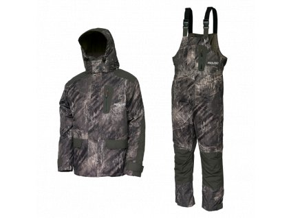 Zimní komplet Prologic HIGHGRADE REALTREE FISHING THERMO SUIT CAMO/LEAF GREEN
