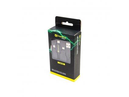 RidgeMonkey: Napájecí kabel Vault USB-A to Multi Out Cable 1m