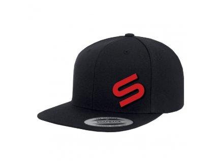 Sonik: Kšiltovka Sonik Black Snapback Icon Cap