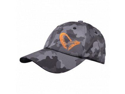 Kšiltovka Savage Gear BLACK SAVAGE CAP ONE SIZE CAMO