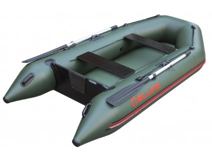 Nafukovací čluny Elling - Forsage 330 s nafukovací podlahou, zelený