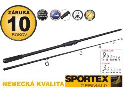 Rybářský prut Sportex - COMPETITION NT Carp 12 Ft  3,25 Lb