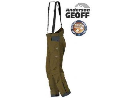 Kalhoty Geoff Anderson Barbarus 2 zelené