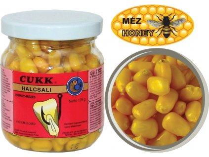 Kukuřice CUKK bez nálevu - 125g VANILKA žltá
