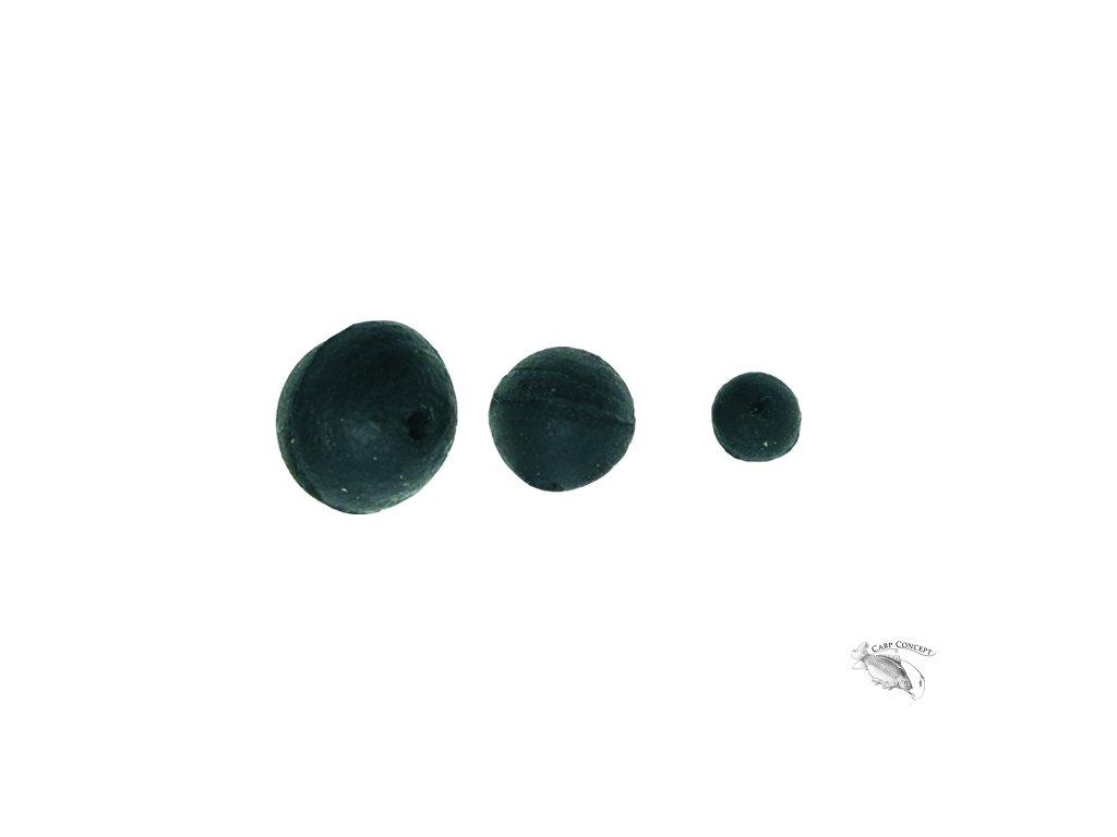 200018 gumová kulička černá