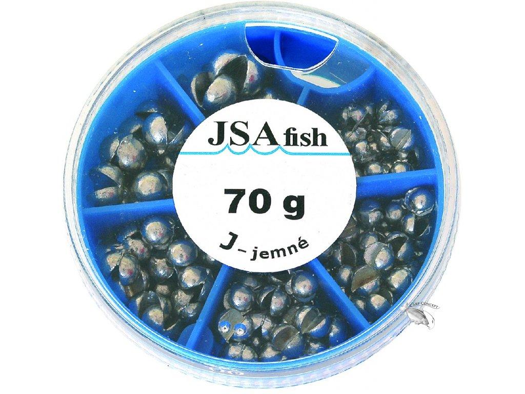JSA fish sada olov broky jemné - 70gr