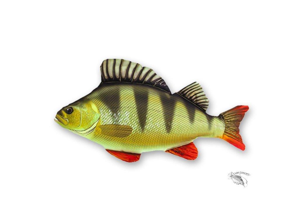Gaby polštářek ryba - Okoun 50cm