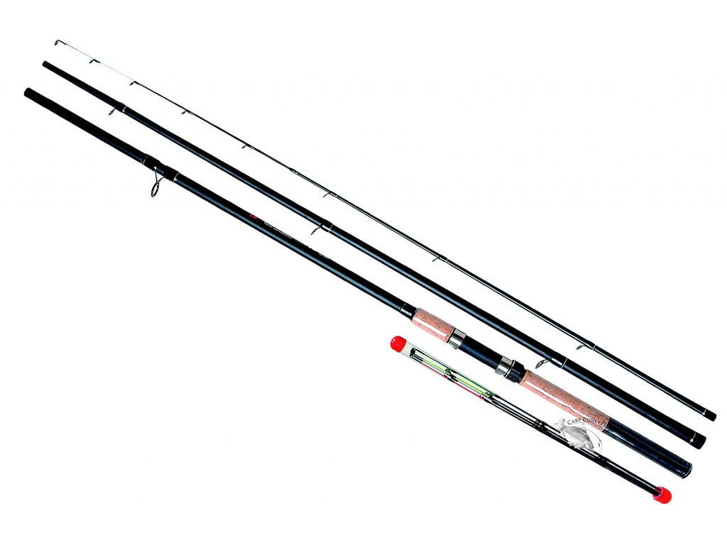 JSA fish  prut Carper Feeder 345cm 50-100g  + neoprénové pásk ZDRAMA