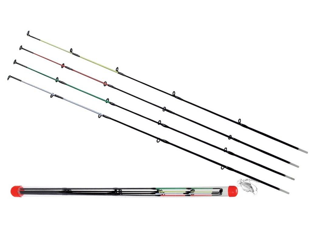 JSA fish Set náhradních špic na feeder Carper 4ks