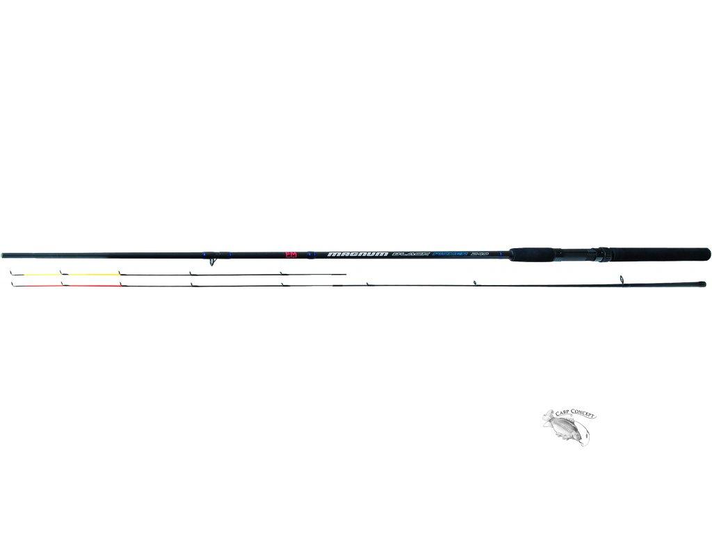JSA fish prut Picker Magnum Black 240cm do 40gr  + neoprénové pásky ZDARMA