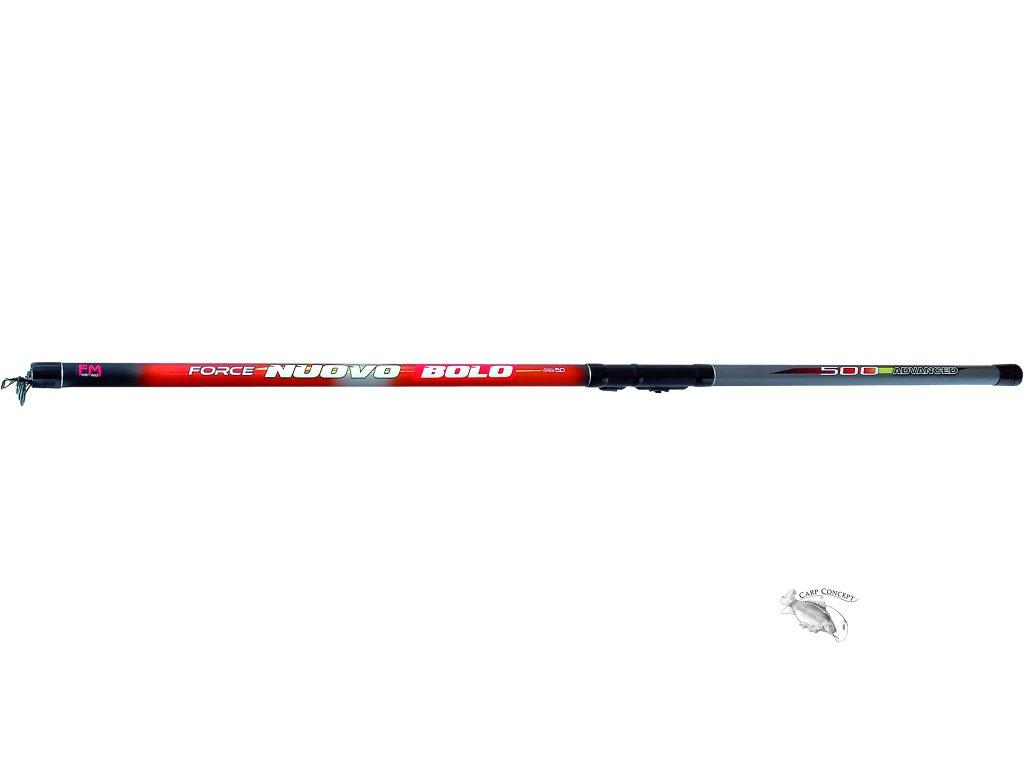 JSA fish prut Force Nuovo Bolo 500cm 5-25gr  +krytka oček zdarma