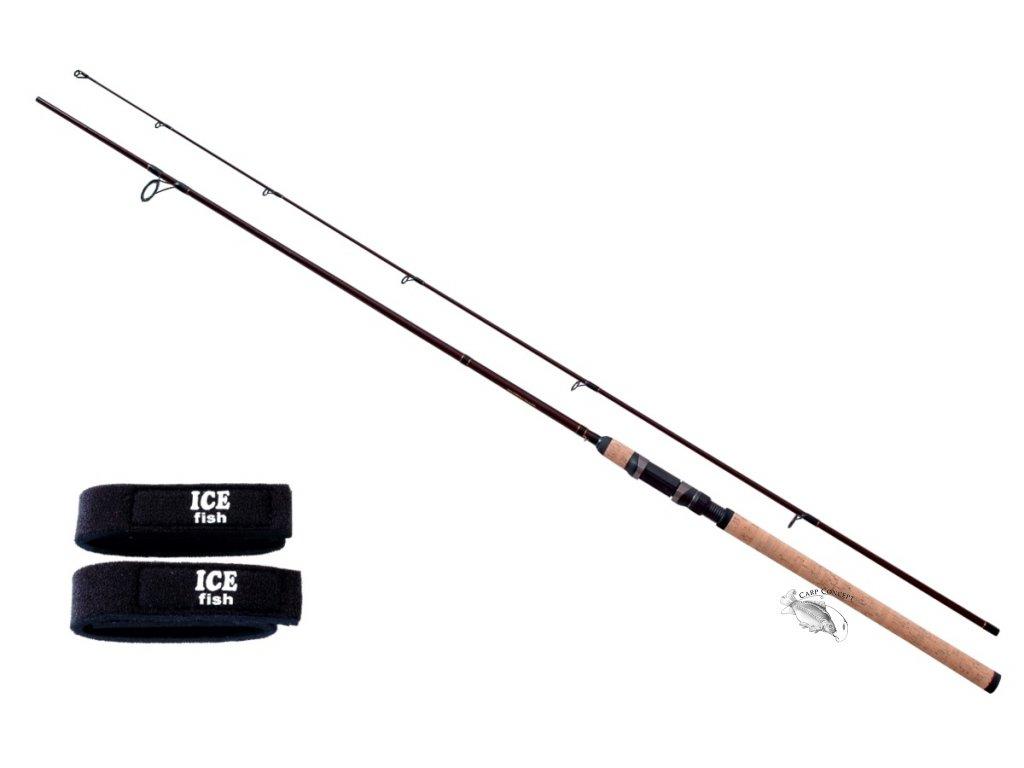 JSA fish prut Ryder 240cm 40-80g  + zdarma neoprenové pásky