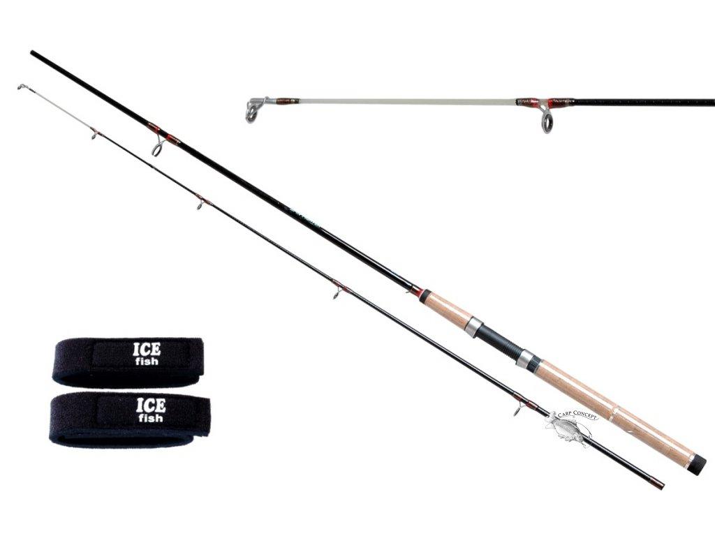 JSA fish prut SpinFighter 240cm 10-40g  + zdarma neoprenové pásky