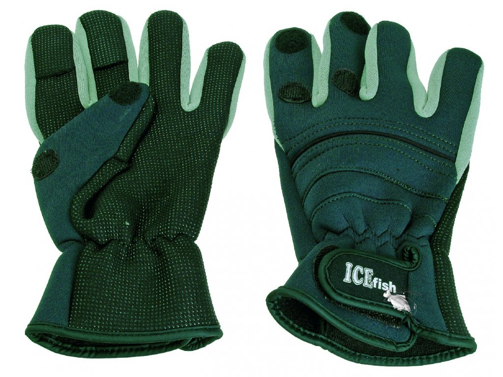 040003 neoprenové rukavice ICE fish 2