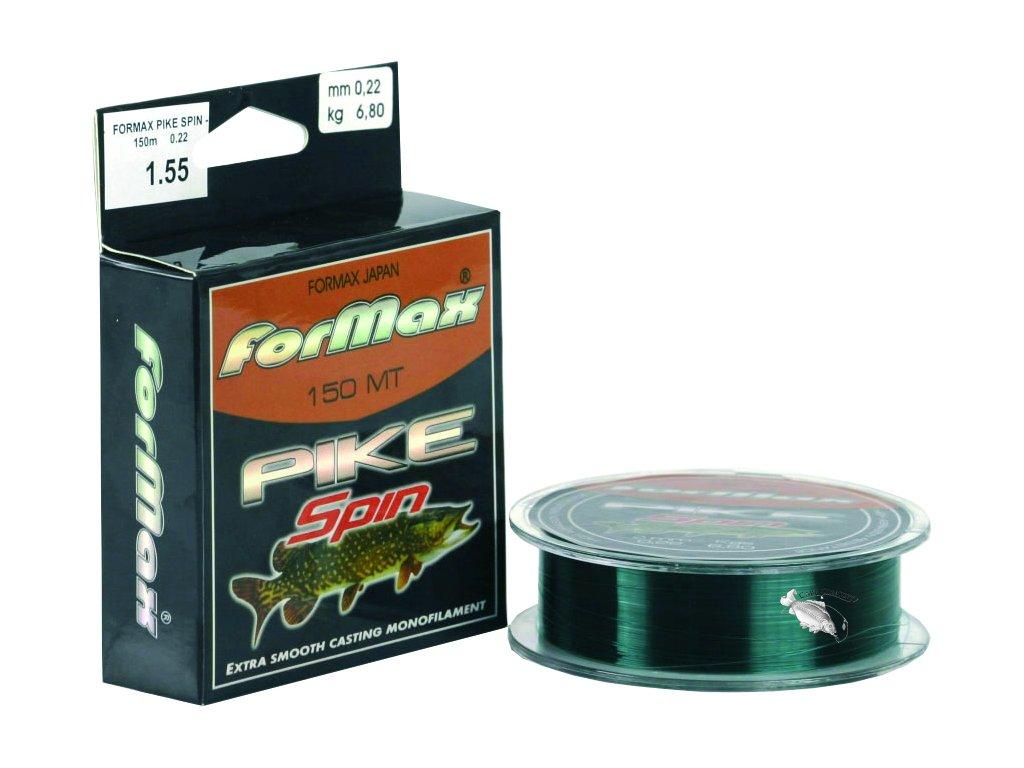 JSA fish Vlasec Formax Pike tmavě zelený - 150m