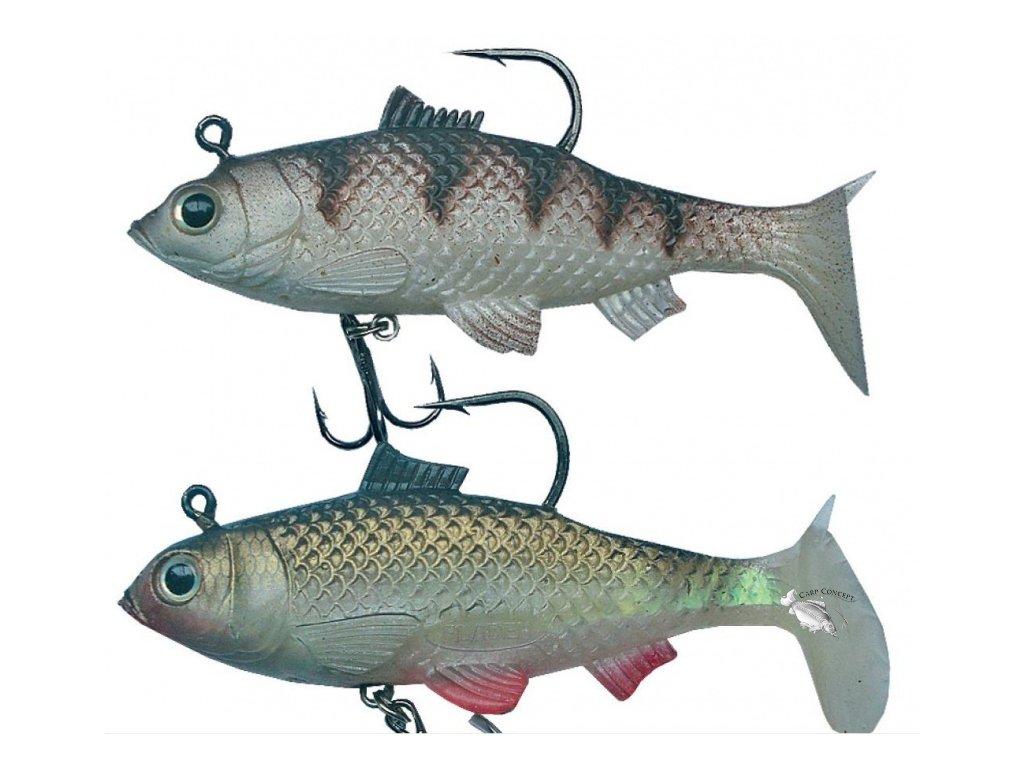 gumova nastraha jsa fish bila ryba ice fish 10cm 23gr 2ks original