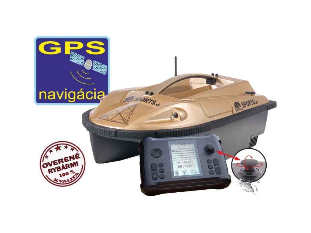 Sports Zavážecí loďka Prisma 6 se sonarem a GPS