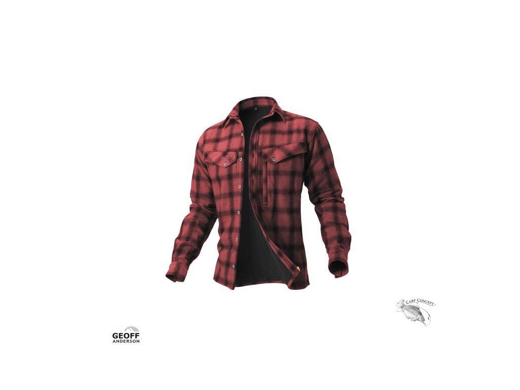 Geoff Anderson košile Ezmar Red
