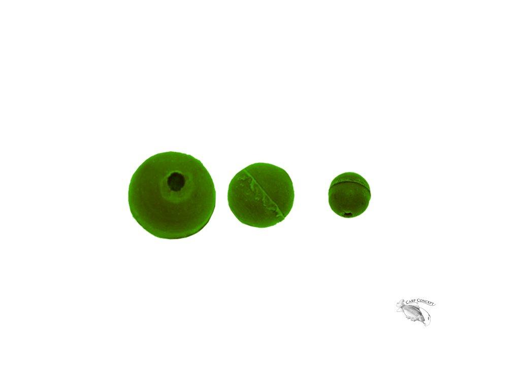 200018 gumová kulička zelená