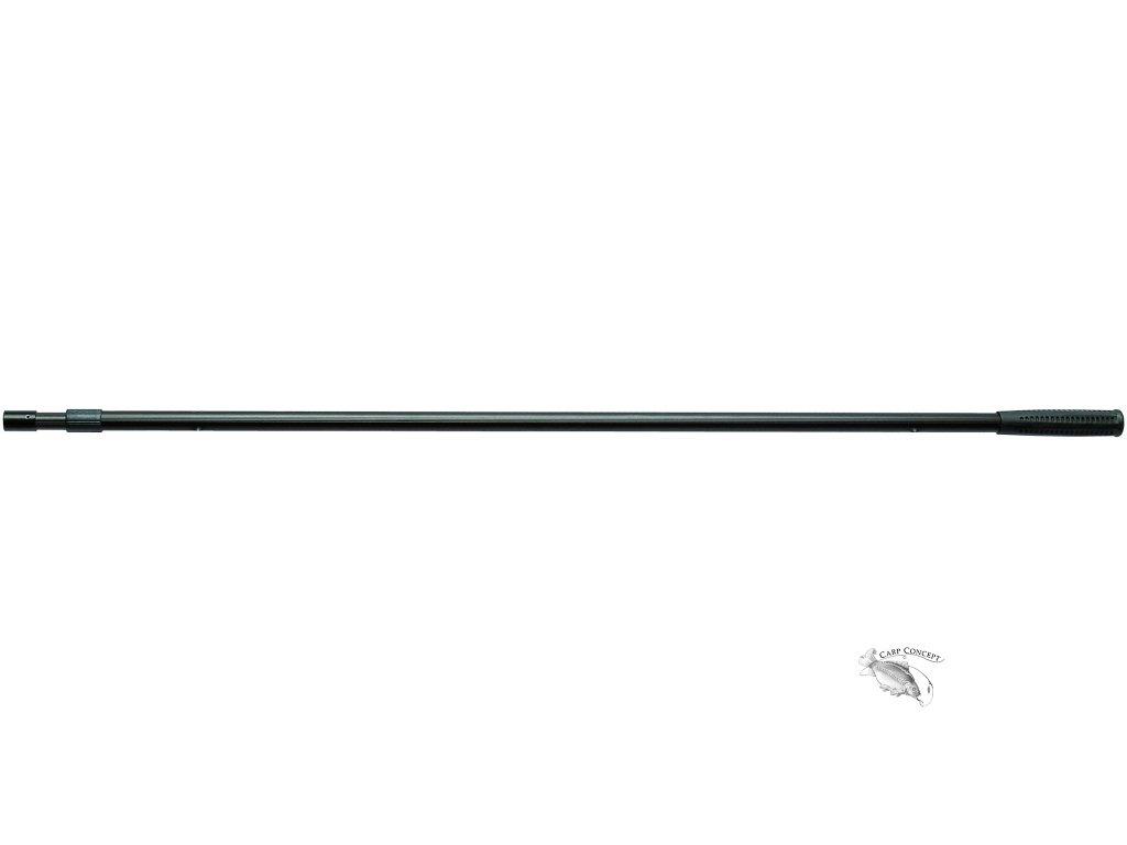 090547 podběráková tyč ALU 2 m černá