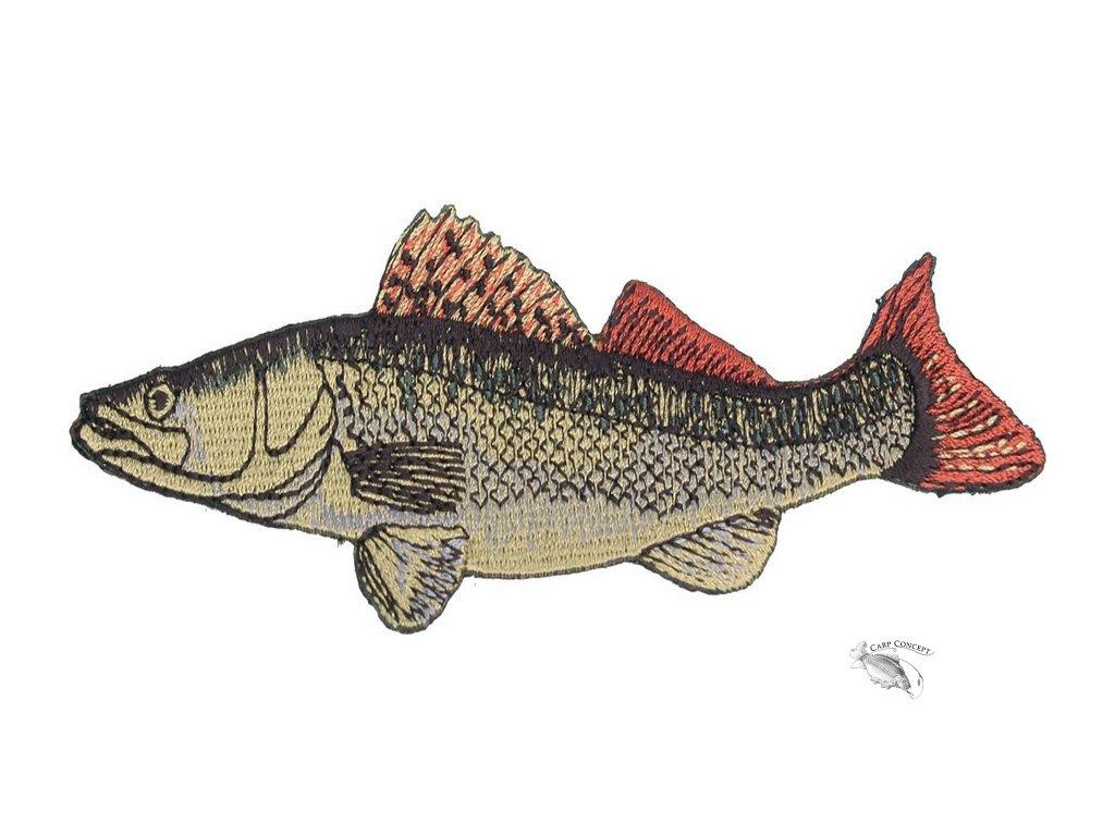 JSA fish Nášivka Candát