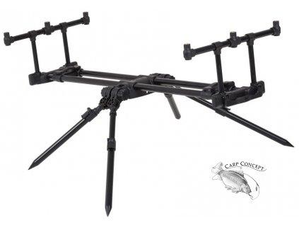 JRC stojan Cocoon Quad Pod 3 Rod