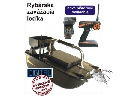 Sports Rybářská zavážecí loďka BL II