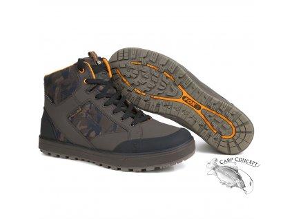 Fox Chunk Camo Mid Boot Kotníkové boty Velikost 45