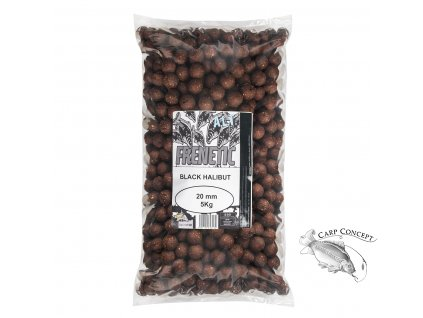 Carp Only  FRENETIC A.L.T. BOILIES BLACK HALIBUT 5kg