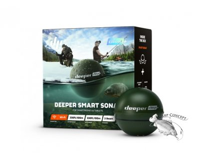 Deeper Nahazovací sonar Fishfinder CHIRP+