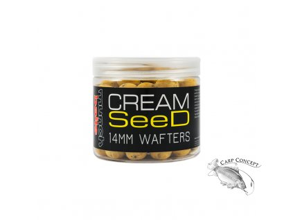 cream seed wafters.