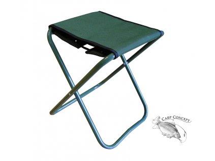 Elektrostatyk židle WP5 B/O bez opěrky - zelená