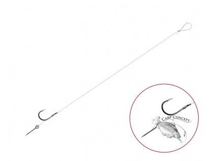 Feederový návazec Delphin FLR Sting / 6ks