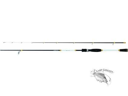 JSA fish  prut Jigger 205cm 1-7g  + zdarma neoprenové pásky