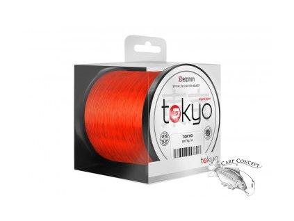 Delphin Monofil Tokyo oranžový 0,261mm 600m