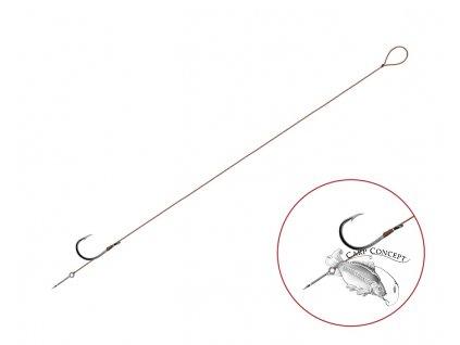 Feederový návazec Delphin Proxi 8 Sting / 6ks