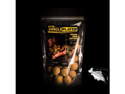 SINGLEPLAYER  Wafters Smoked Squid 200g Mix 21, 24mm