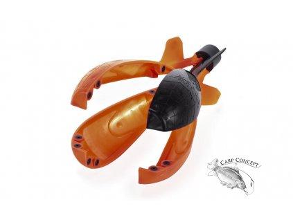 raketa wolf xspod performance black orange z1