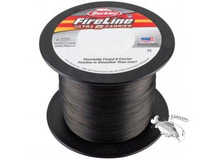 BERKLEY pletená šňůra FireLine Ultra 8 Smoke - 50m návin