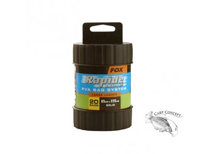 Screenshot 2020 12 03 Fox Edges Rapide Fast Melt PVA Bag System 85 x 220mm Amazon co uk Sports Outdoors