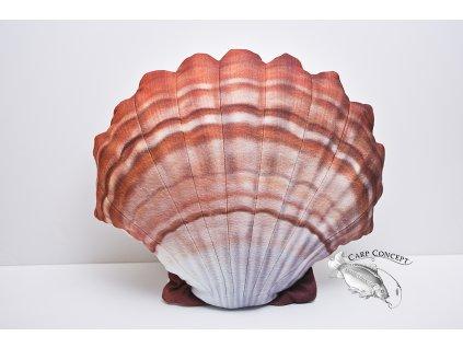 Gaby polštářek Mušle - oranžová 45cm