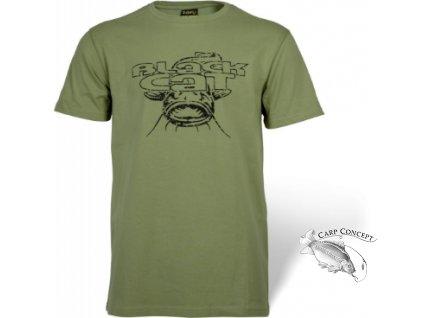 Screenshot 2021 06 17 at 15 25 52 Zebco Europe Shop » S Black Cat Military Shirt zelená 8779000