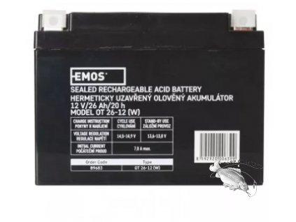 Screenshot 2021 08 05 at 13 48 47 Bezúdržbový olověný akumulátor 12 V 26 Ah L2 EMOS