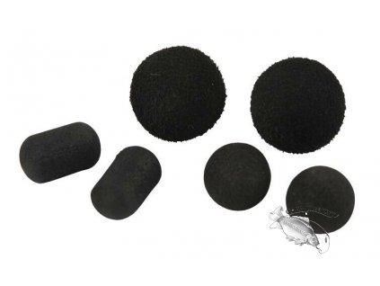 Carp Spirit Tac-Tics Foam Baits Black, 10 ks