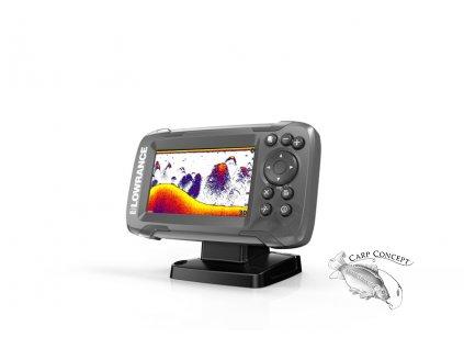 Lowrance Echolot HOOK² 4x GPS sondou Bullet Skimmer