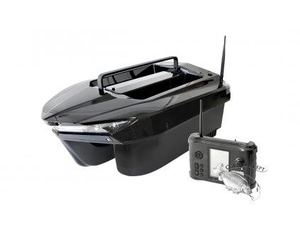 Quatro Carp Zavážecí krmná loďka Star 1003  Model 2 - s echolotem