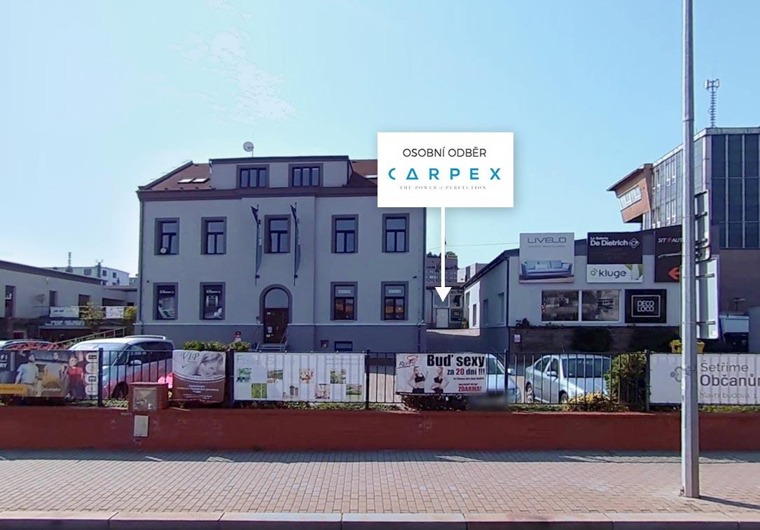 Osobní odběr Carpex