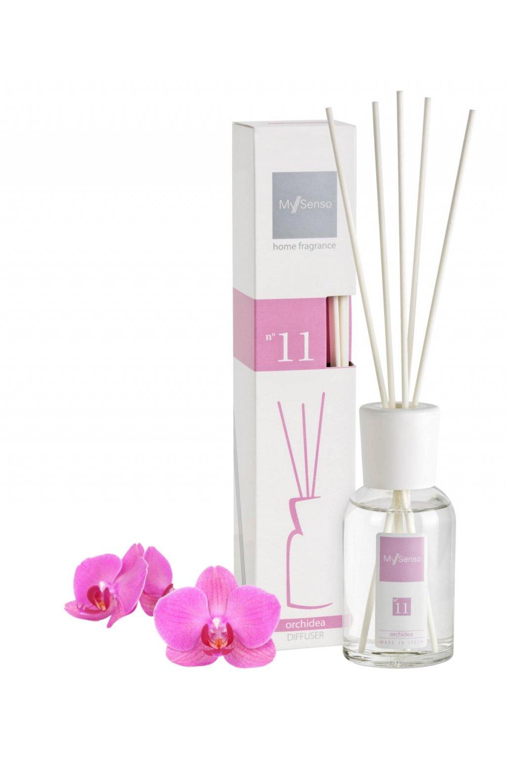 84 my senso aromaticky difuzer midi 100ml n 11 orchidea orchidej