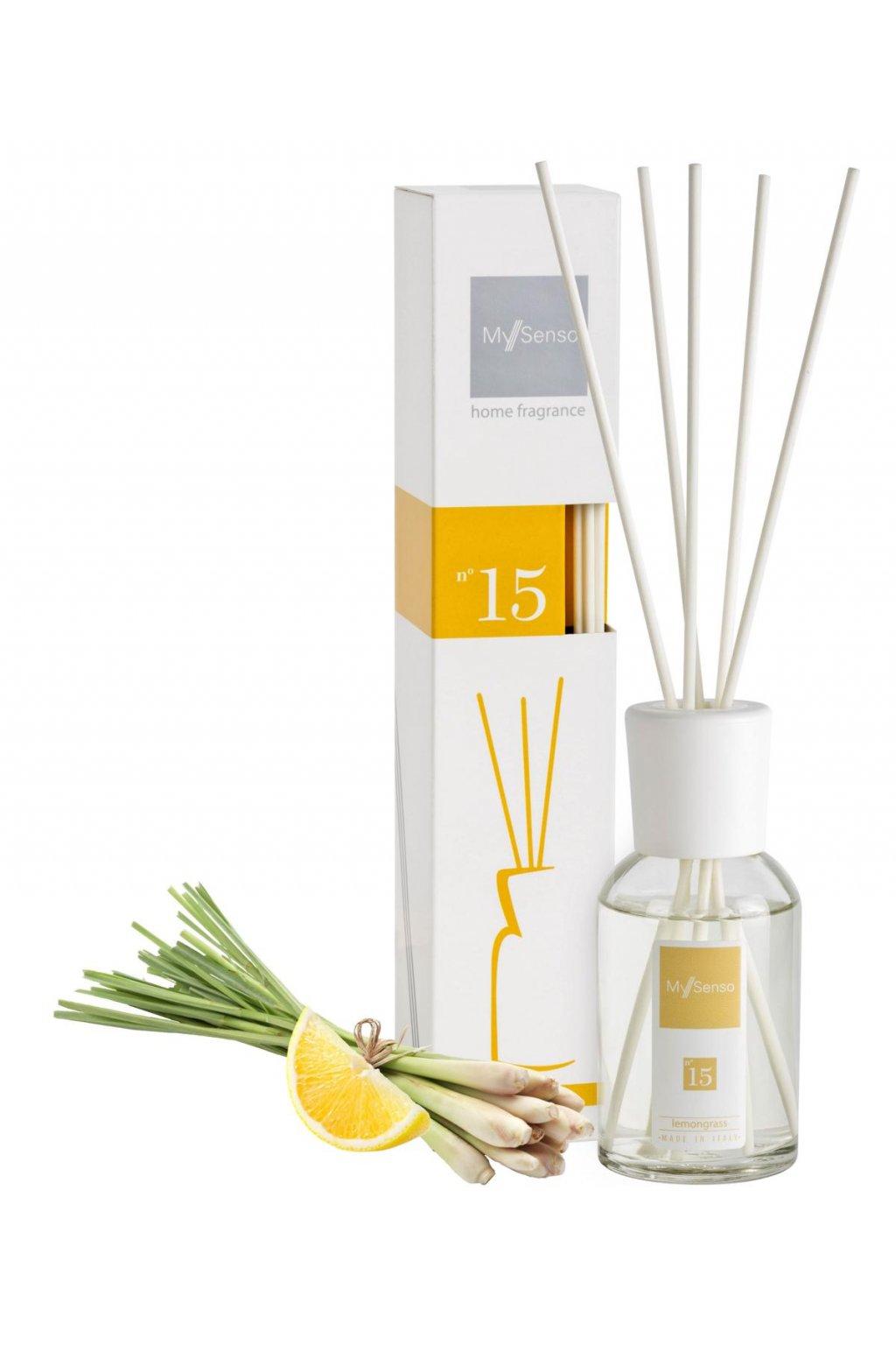 87 my senso aromaticky difuzer midi 100ml n 15 lemongrass cerstvy citron