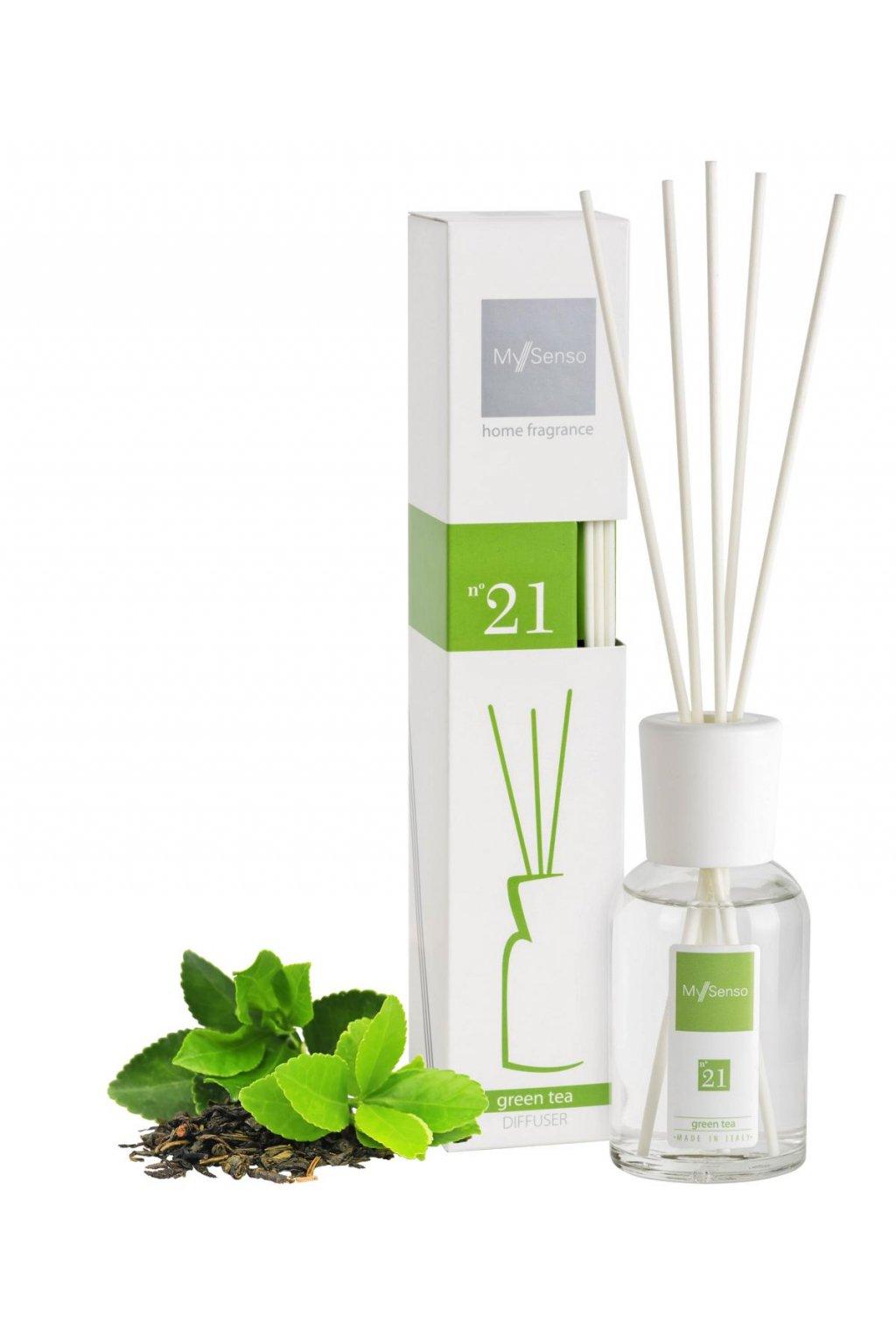 93 my senso aromaticky difuzer midi 100ml n 21 green tea zeleny caj